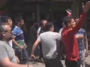 Surda HDP heyetine tepki