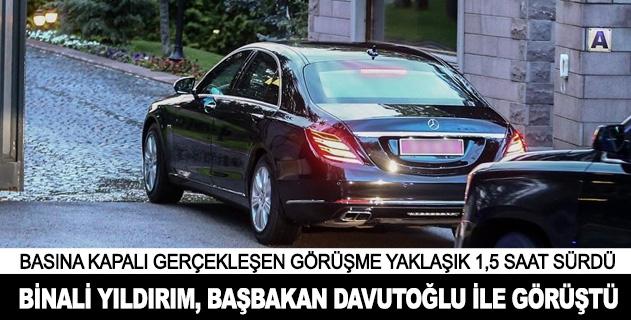 Binali Yıldırım, Başbakan Davutoğlu ile görüştü