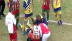 Futbol maçında trajik ölüm