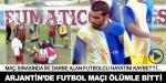 Arjantinde futbol maçı ölümle bitti