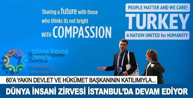 Dünya İnsani Zirvesi İstanbulda devam ediyor