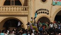 Kızıltepede izinsiz gösteriye müdahale edildi