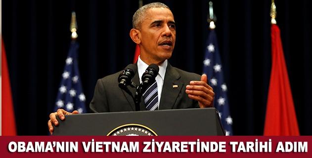 Obamanın Vietnam ziyaretinde tarihi adım