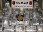 Diyarbakırda 175 kilogram esrar ele geçirildi