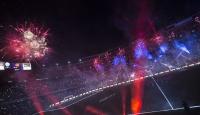 Barcelona Nou Camp Stadında kutlama yaptı