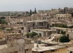 Suriyedeki enkaz yığını Kafr Zita