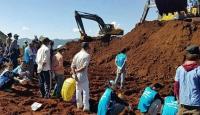 Myanmarda heyelan: 13 ölü, 100 kayıp