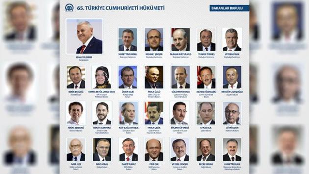 Kabinenin en genç ve en yaşlı bakanı kim?