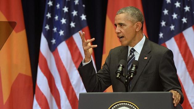 Obama: Güney Çin Denizi sorunu barışçıl yollarla çözümlenmeli