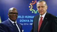 Cumhurbaşkanı Erdoğan Keita ile görüştü