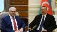 Azerbaycan Cumhurbaşkanı Aliyevden Yıldırıma tebrik telefonu