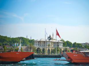 İstanbul Boğazında rekor atlayış