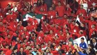 Türkler her zaman her yerde takımlarını yürekten destekliyor
