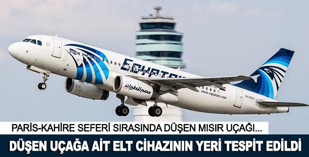 Düşen Mısır yolcu uçağına ait ELT cihazının yeri tespit edildi