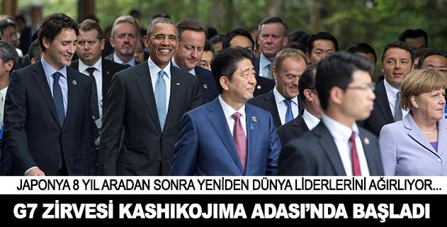 G7 Zirvesi Kashikojima Adasında başladı