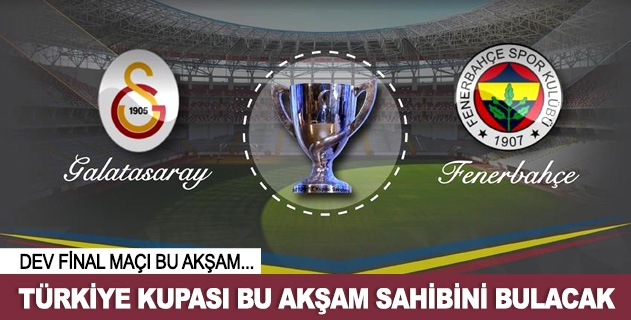 Türkiye Kupası bu akşam sahibini bulacak
