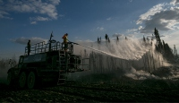 Orman yangını Kanada ekonomisini etkiledi
