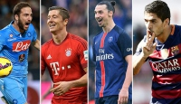 Avrupa futbolunda sezona damga vuran golcüler