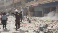 Esed güçlerinden pazar yerine saldırı: 4 ölü, 15 yaralı