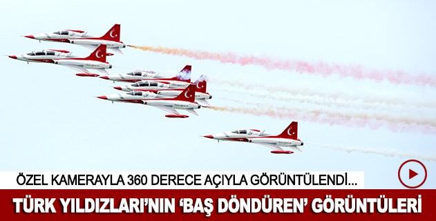 Türk Yıldızlarının gökyüzünde nefes kesen dansı