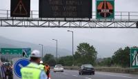 Kaynaşlı-Abant kavşakları arası trafiğe kapatıldı