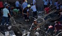 Mersinde inşaat çöktü: 1 ölü, 1 yaralı