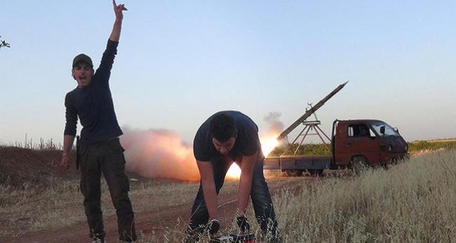 Hama askeri havaalanına füzeli saldırı