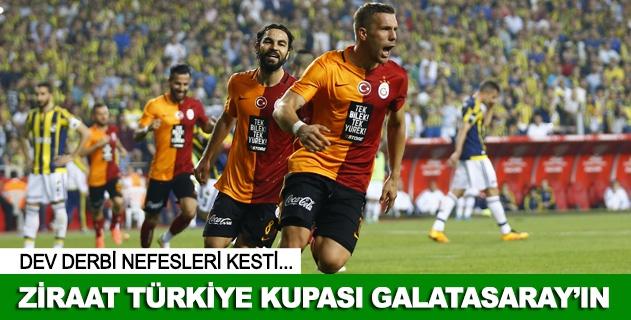 Ziraat Türkiye Kupasında kazanan belli oldu
