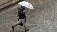 Zonguldakta sağanak yağış ulaşımı aksattı