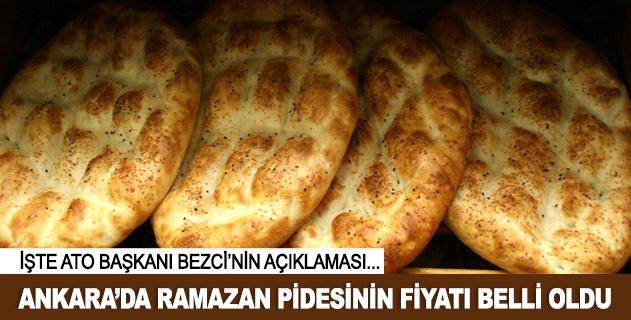 Ankarada pide fiyatı değişmedi