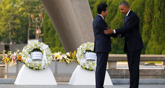 ABD Başkanı Obama Hiroşimayı ziyaret etti