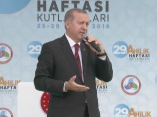 Cumhurbaşkanı Erdoğan: FETÖyü terör örgütü olarak tescilini gerçekleştireceğiz