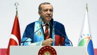 Cumhurbaşkanı Erdoğana fahri doktora tevcih edildi