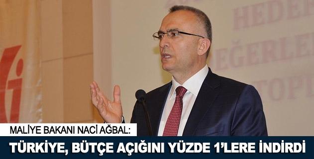 Türkiye bütçe açığını yüzde 1lere indirdi