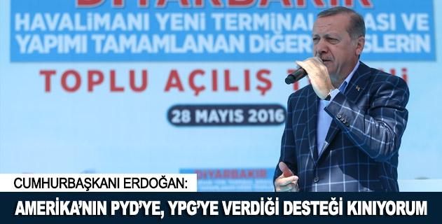 Amerikanın PYDye, YPGye verdiği desteği kınıyorum