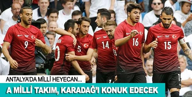 A Millilerin konuğu Karadağ