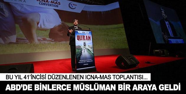 Binlerce Müslüman ICNA-MAS toplantısında buluştu