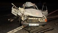 Bolu Dağında kaza
