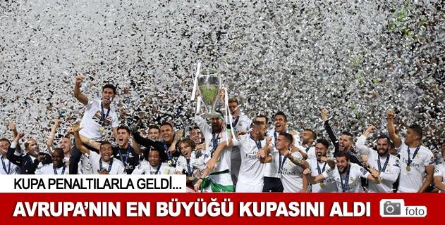 Devler Liginde şampiyon Real Madrid