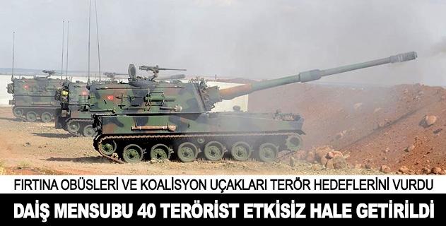 Koalisyon güçleri ve TSKdan DAİŞe operasyon