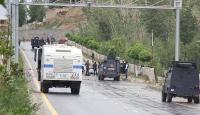 Teröristlerin rögara yerleştirdiği patlayıcı imha edildi