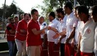 Kızılaydan Gazzeye ilk yardım istasyonu
