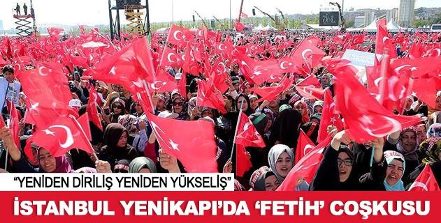 İstanbulda Fetih Şöleni coşkuyla kutlandı