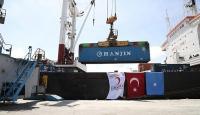 Türkiyeden Somaliye 11 tonluk insani yardım