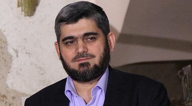 Suriyeli muhaliflerin başmüzakerecisi istifa etti