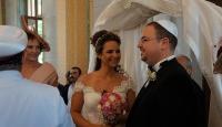 Sinagogda 41 yıl sonra ilk nikah