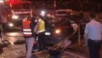 İstanbulda feci kaza : 1 ölü, 3 yaralı