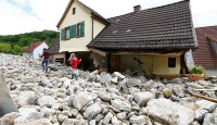Almanyada fırtına ve sel 4 can aldı