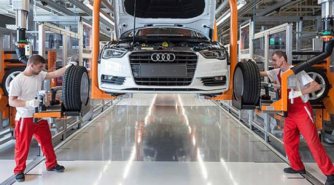 Audi, sel nedeniyle üretimi durdurdu