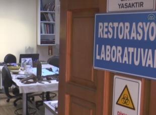 Tarihi savaş kalıntılarına cerrah titizliğinde müdahale